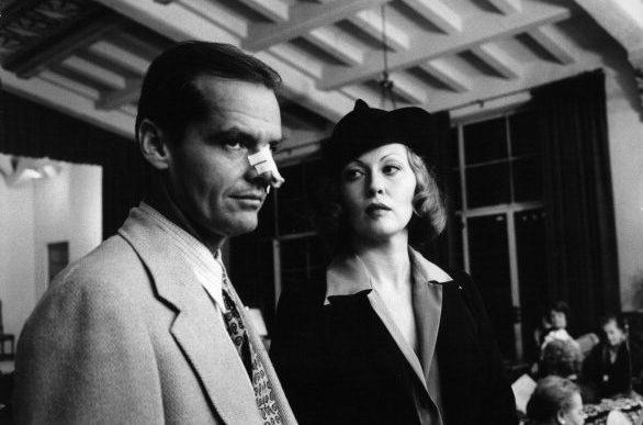 Jack Nicholson And Faye Dunaway In 'Chinatown'
